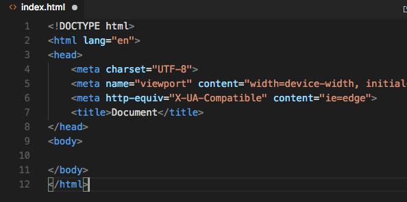 html5初期画面